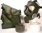 genuine Swedish NBC SKYDDSMASK-51 gas masks