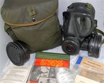 British Army S6 Respirator Gas Mask