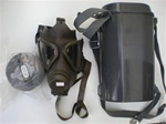 M65 German Army Gas Mask and Filter Kit