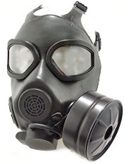 U S M45 Gas Mask Nbc Filter And Carrier Army Land