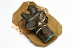 WWII Era British Civilian Special Service Respirator Gas Mask Kit