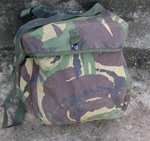 British Army DPM Woodland Camo S10 Gas Mask Carrier