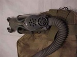 U.S. ARMY M3A1 Diaphragm Gas Mask