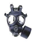 U.S. M95 Gas Mask and 3m P100 NBC Filter