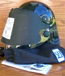 Police CM-1 Helmet with Face and Neck Shield