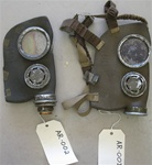 WWII Army Argentinian Argentina Light Gas Mask