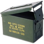 Ammo Can .50 Caliber 11x7x5.5