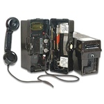German Field Phones - Set of 2 Original Phones