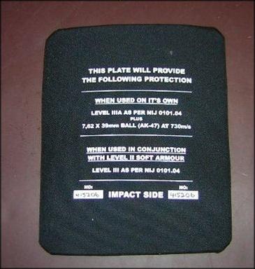 ballistic fabrication coupons
