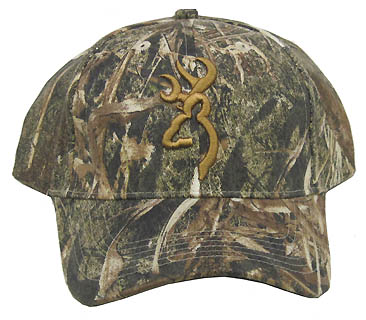 Mossy oak duck blind hat